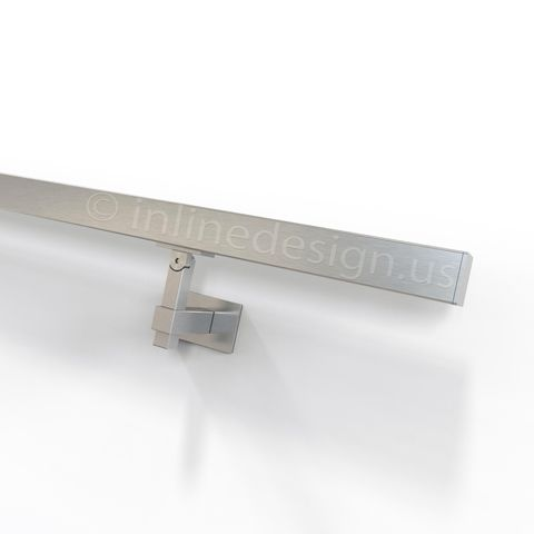 Best Stainless Steel Handrail Wall Bracket Square Magnetar 400 x 300