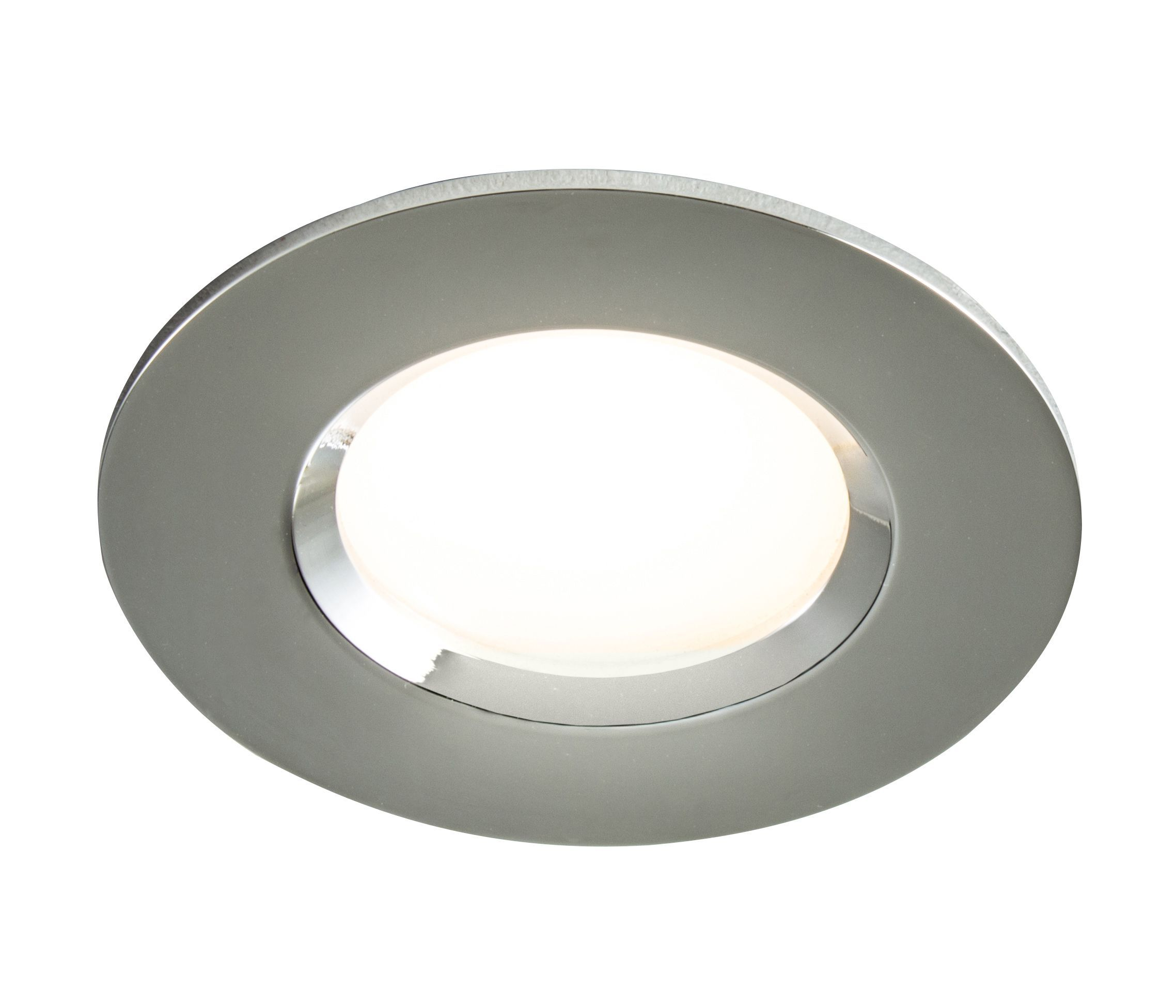 Colours Chrome Effect Led Adjustable Recessed Downlight 55 W Ip65