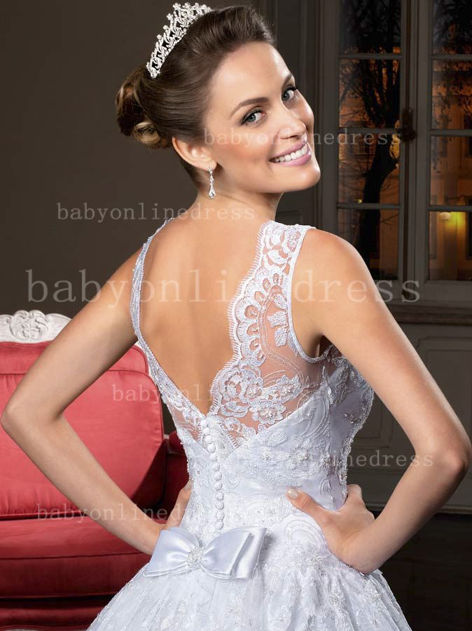 A Line Organza Lace Bridal Gowns For Sale Free Shipping Pattern Brazil Designer Wedding Dress