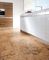 cork floor in kitchen