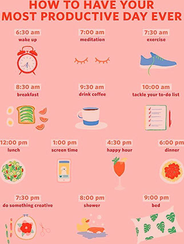 Photo of An Hour-by-Hour Roadmap to Your Most Productive Day Ever