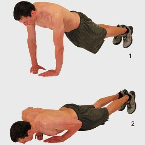 Triangle Push-Ups - Your biceps can only be as big as your triceps, WORK BOTH EQUALLY