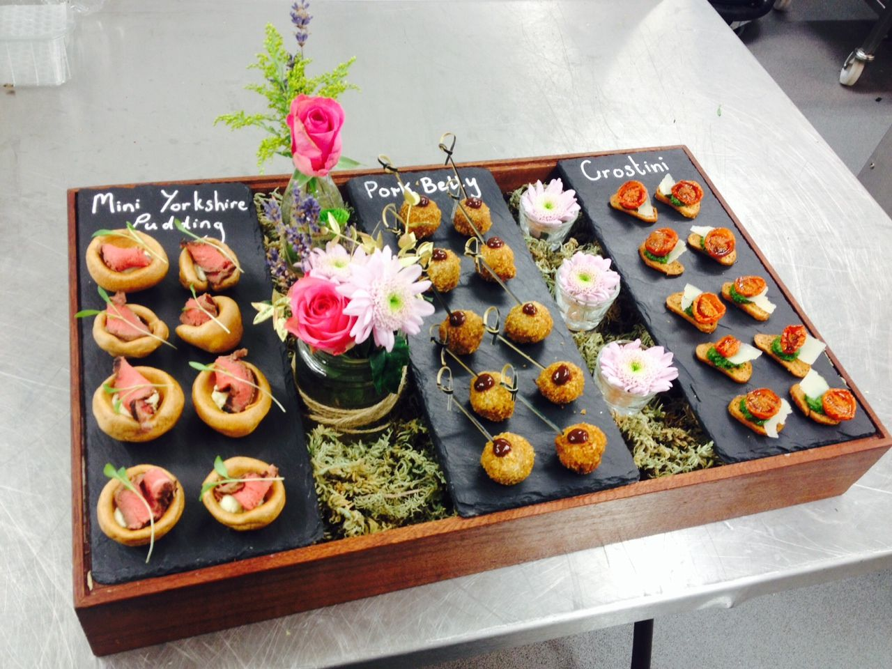 Trying Out Some New Canapé Serving Ideas #wedspiration