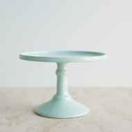 Small Cake Stand in Mint