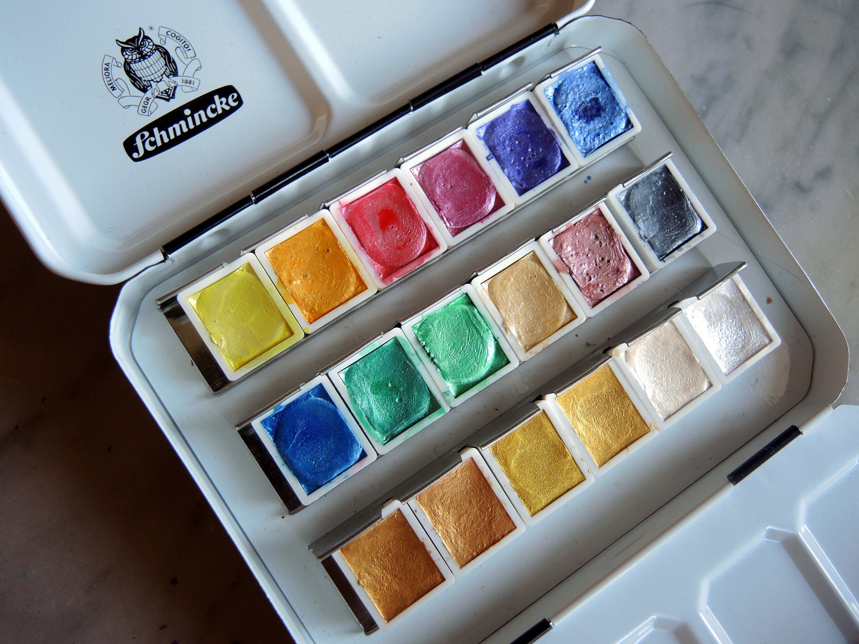 Pin On Watercolor Palettes In My Etsy Shop