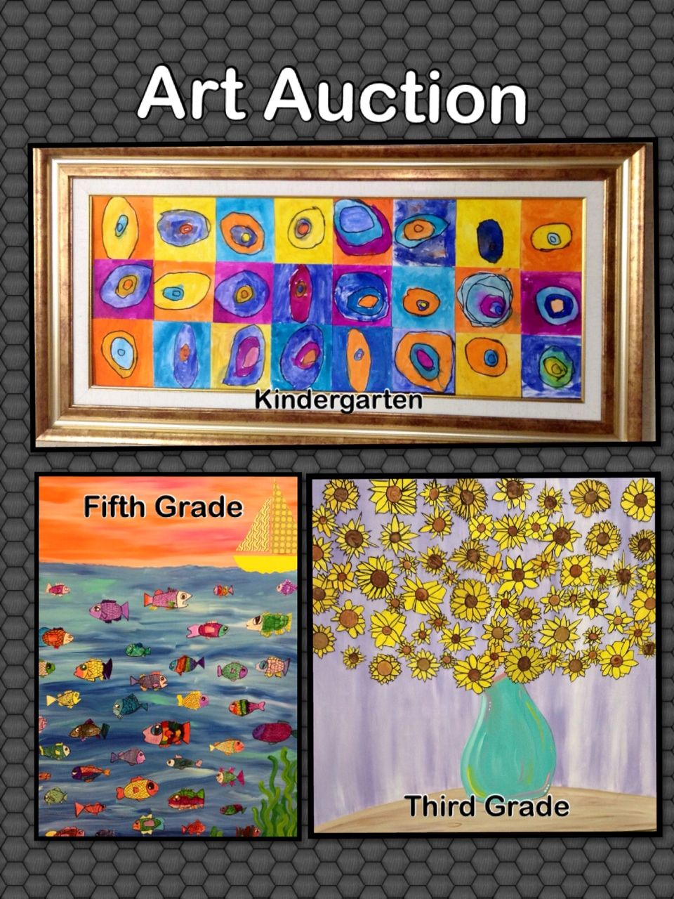 Art Auction Children' Auctions And Crafts School