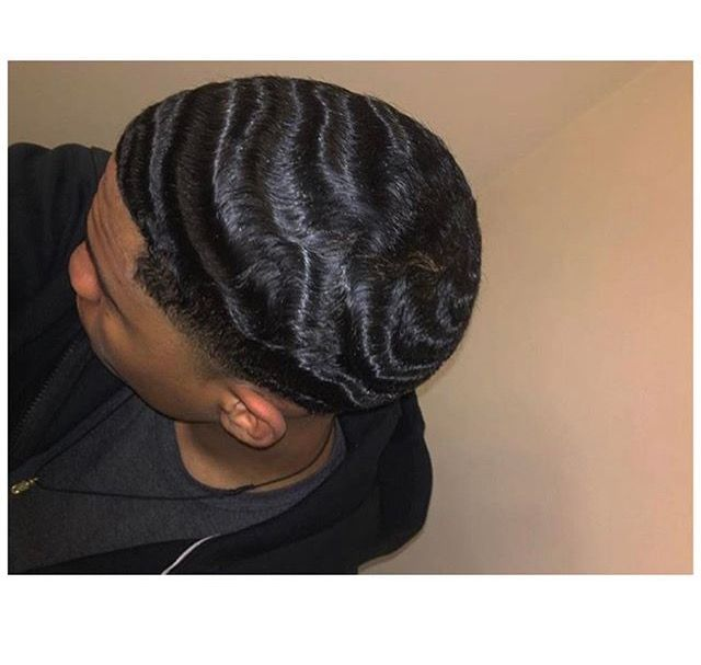 Follow Me Youknow My Pinns Be Litt Press That Follow Button Lovejne01 Give Me My Credit Tho If You Gone Ta Waves Haircut Hair Waves Waves Hairstyle Men
