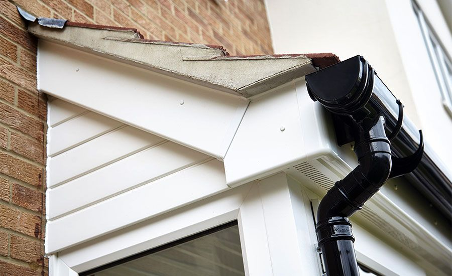Bargeboards New Build And Replacement Upvc Bargeboards Upvc House Gutters House Styles