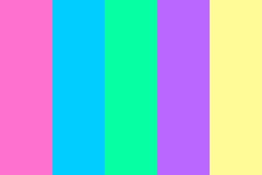 Vaporwave Color Palette #color #colorschemes #colorpallete ...