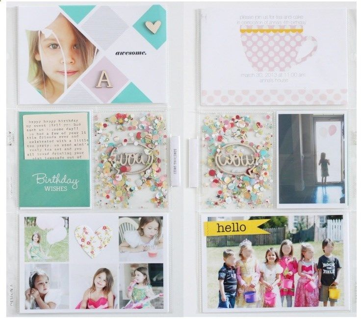 Project Life Layout by Stephanie