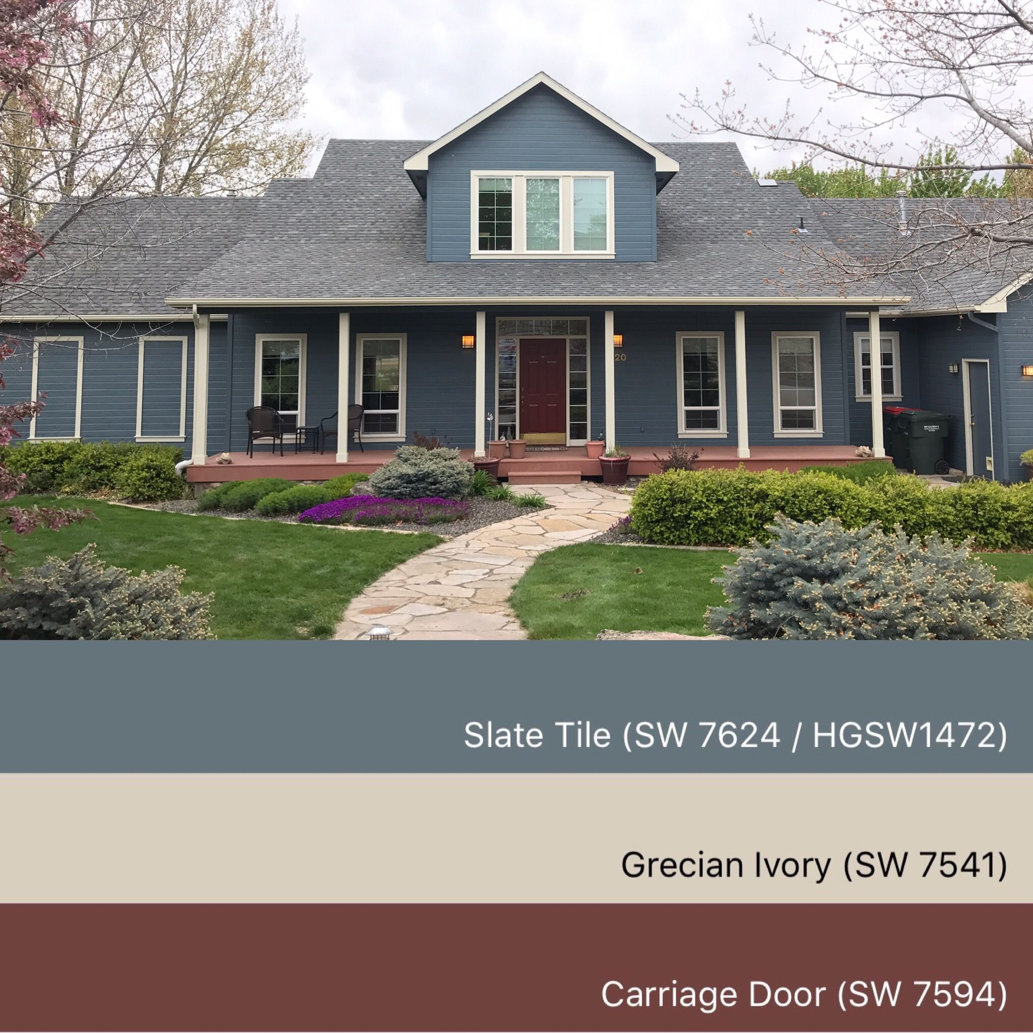 Sherwin Williams Paint Colors Slate Tile 1472 Greciean Ivory