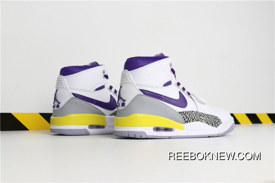 e0cbc9ecedb7 Air JordanADon C X Jordan Legacy 312 Lakers AV3922-157 NBA 40-46 New Style