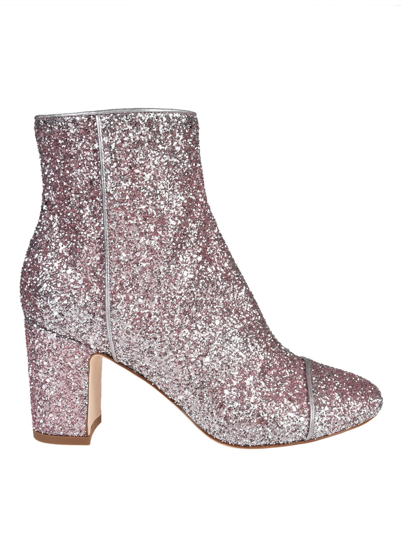 Polly Plume Lacquer Bootie 3BOab5O