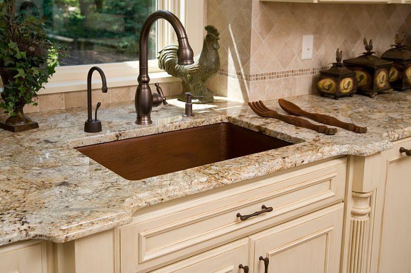 Design Gallery Of Kitchen Granite Countertops Cream Kitchen