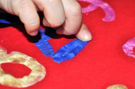 Activités Manuelles Enfants - Peinture 3D ou en relief Faite Maison