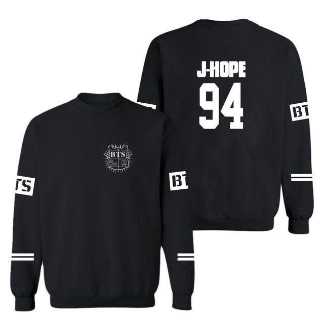 BTS Bangtan Boys baseball uniform Jungkook jhope jin jimin v suga long sleeve jacket high quality hoody Sweatshirt