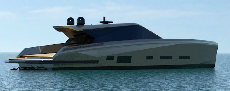 Checkmate New Super Luxury Yacht At Monaco Show In Port Hercules Wally Boat