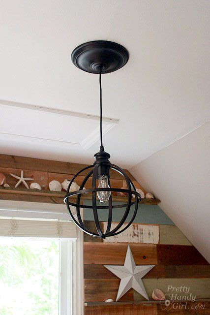 Convert A Hole In The Ceiling From Recessed Lighting To Pendant Converter Kit By Pretty Handy