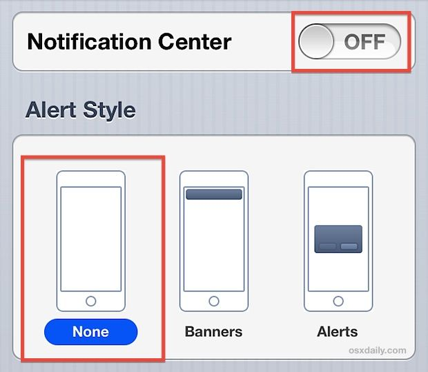 turn-off-notifications-and-alerts-iphone | Good Ideas | Iphone