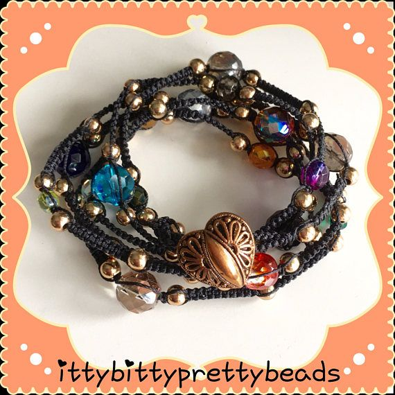 198. Wikkel armband of ketting 2-in-1