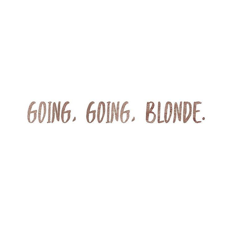 "YEGhairstylist • YEGbrides on Instagram: ""Going, going, blonde. #jigsawforhair #goinggoingblonde"""