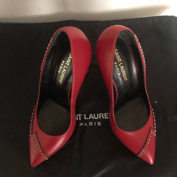 501973373b0 YSL shoes Excellent pre-owned condition. 100% authentic. Coms with original  a