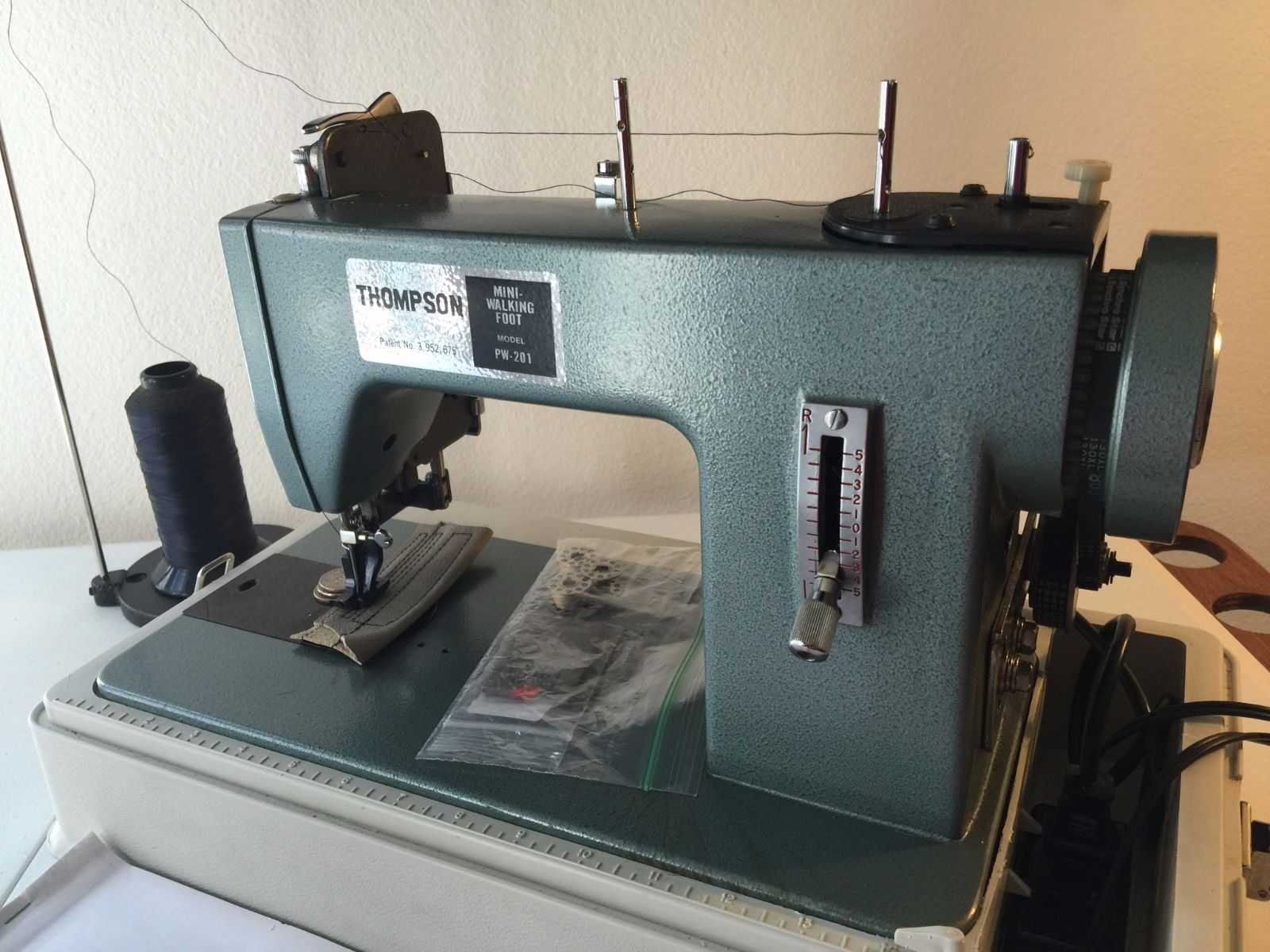 Bernina 950 Industrial Sewing Machine Table Top fits Mini Walking Foot Machines