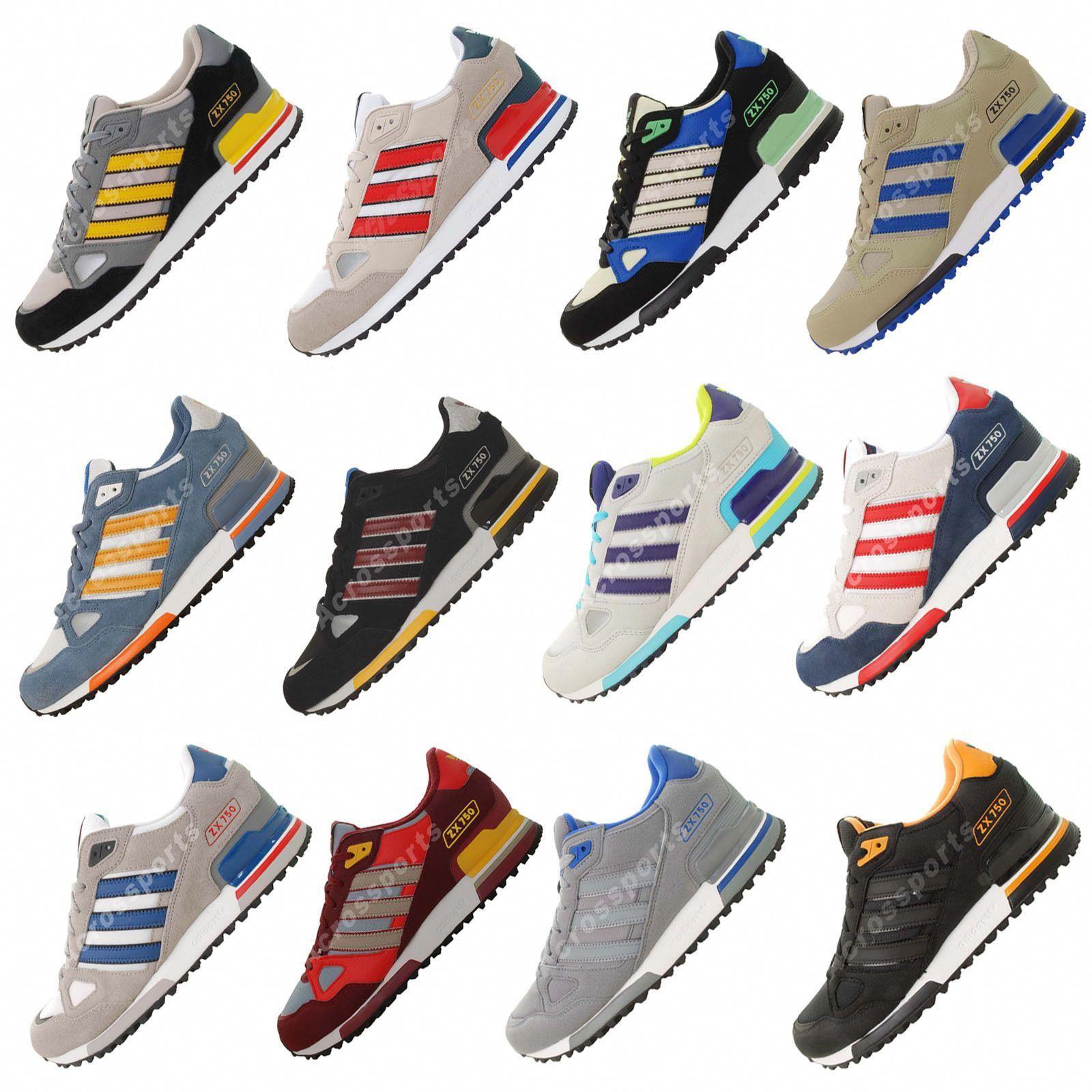 Superficial no relacionado Colector  Adidas Originals ZX750 ZX 750 2013 Retro Running Shoes #Sneakers | Adidas  outfit shoes, Adidas shoes mens sneakers, Sneakers men fashion