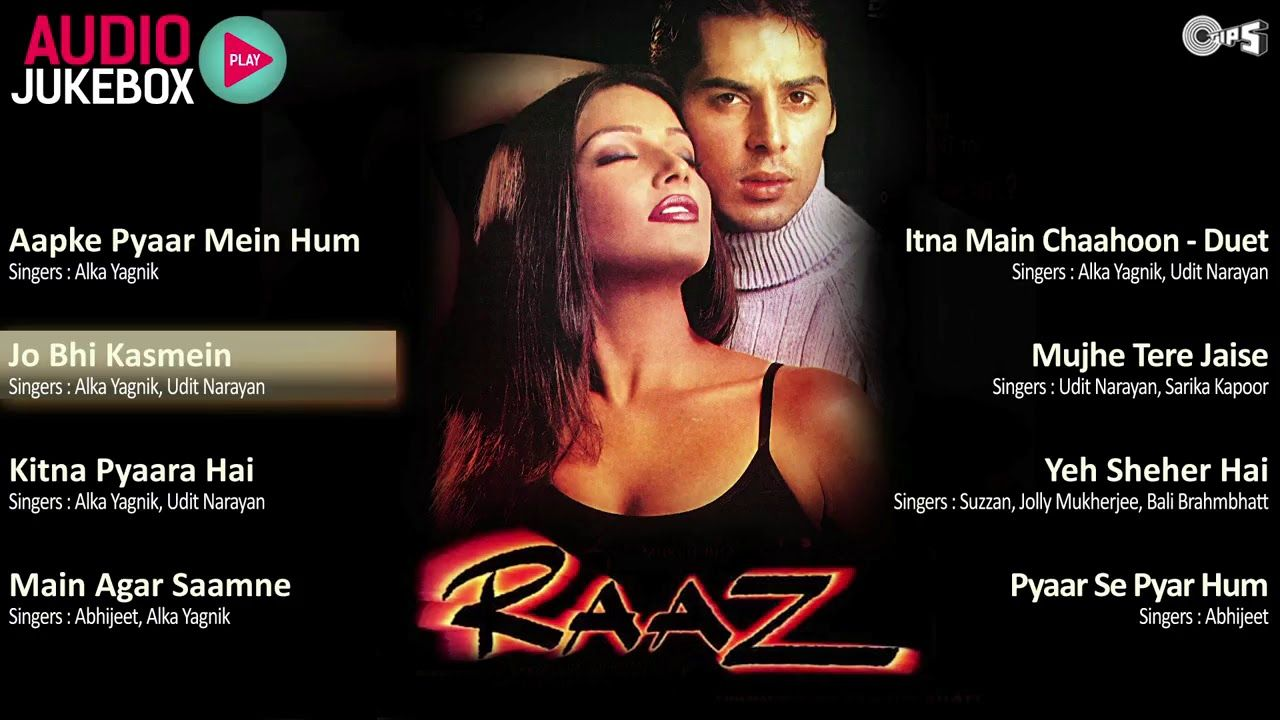 Raaz Jukebox Full Album Songs Bipasha Basu, Dino Morea, Nadeem