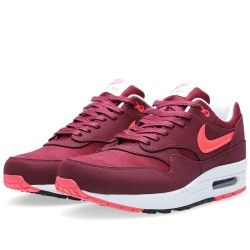 Nike Air Max 1 Homme Premium Team Rouge/Atomic Rouge