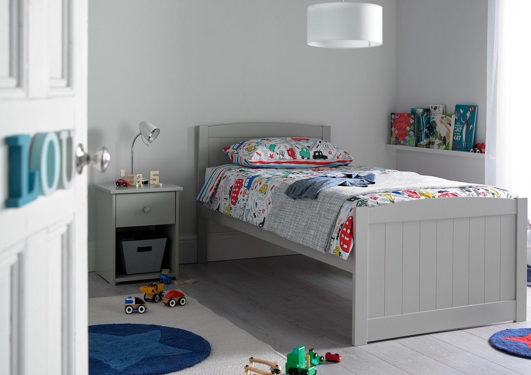 Portland Solo Grey Bed Frame Grey Bed Frame Grey Bedding Kids
