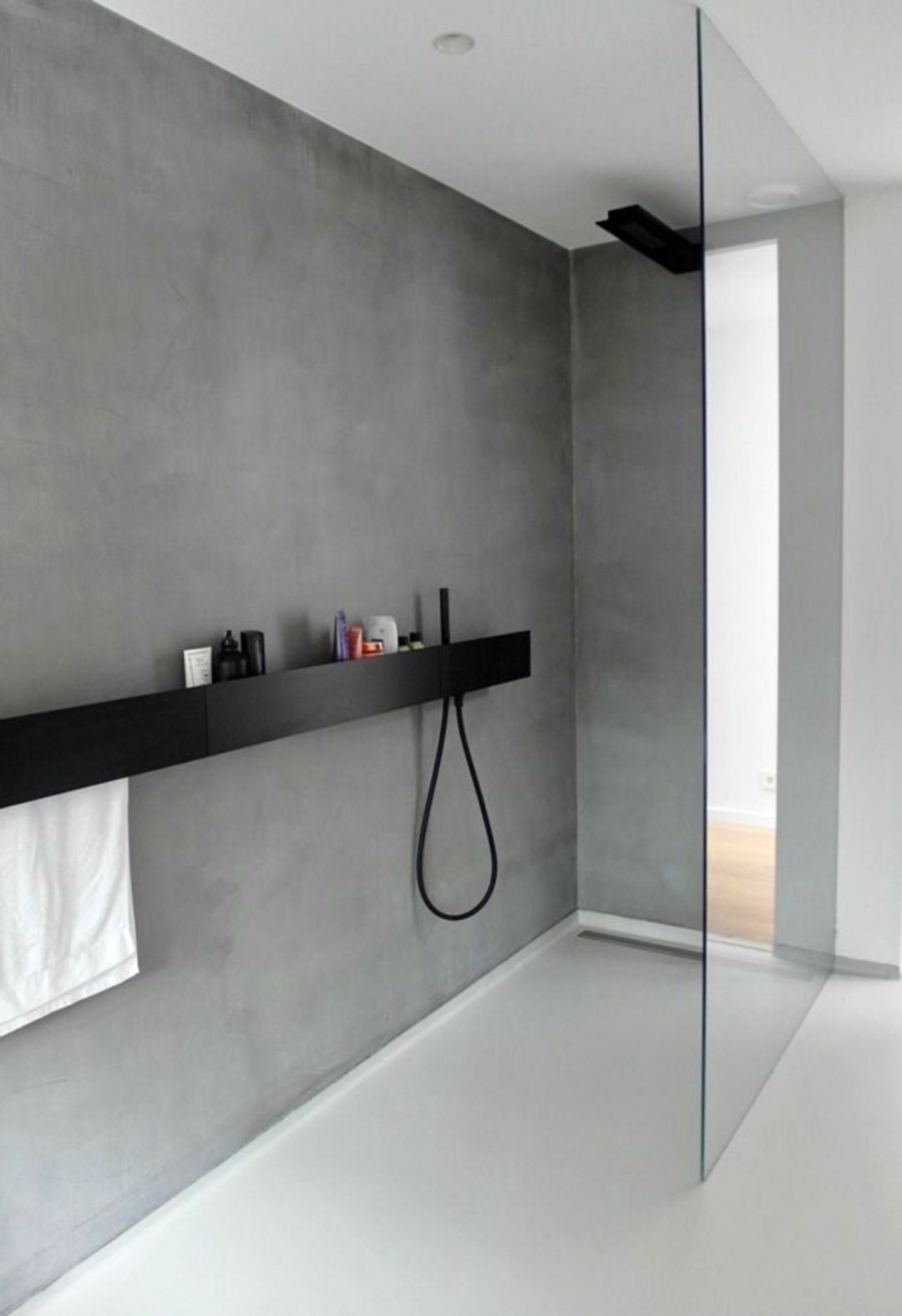 Elle Decoration Uk On Instagram Structural Bold And Beautifully Simple Designed By Us For Baths Bathroom Interior Bathroom Interior Design Luxury Bathroom