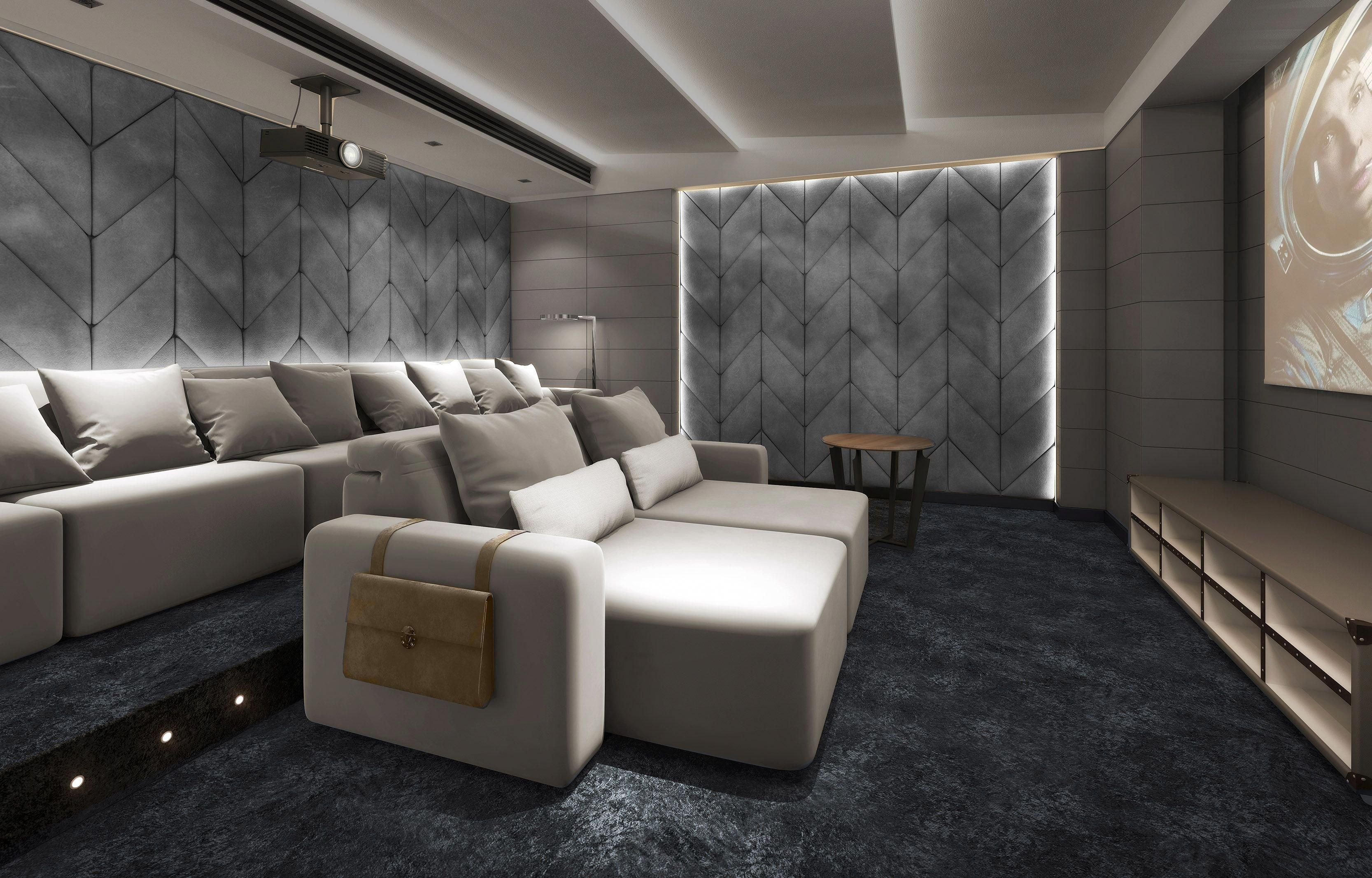 Home Cinema Ideas Seating Sofa Hometheaterdecor
