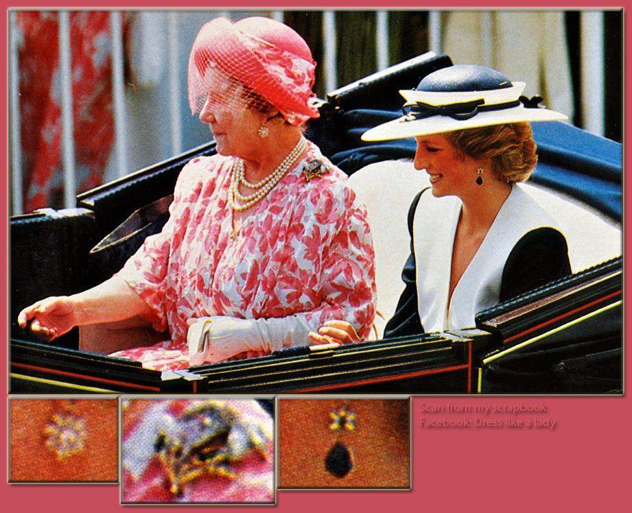 Diana & The Queen Mother