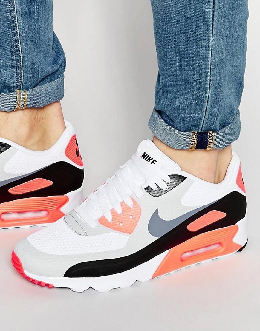 buy online 8d849 7bfae Nike   Nike Air Max 90 Ultra Essential Sneakers 819474-106 at ASOS