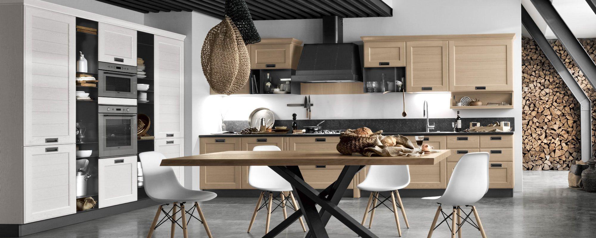 cucine moderne contemporanee stosa - modello cucina york 04 | Cucine ...