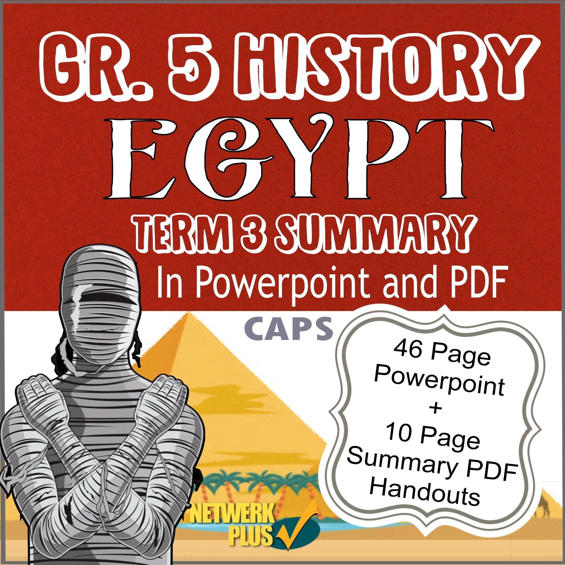 hight resolution of Egypt: Gr 5 Term 3   History terms