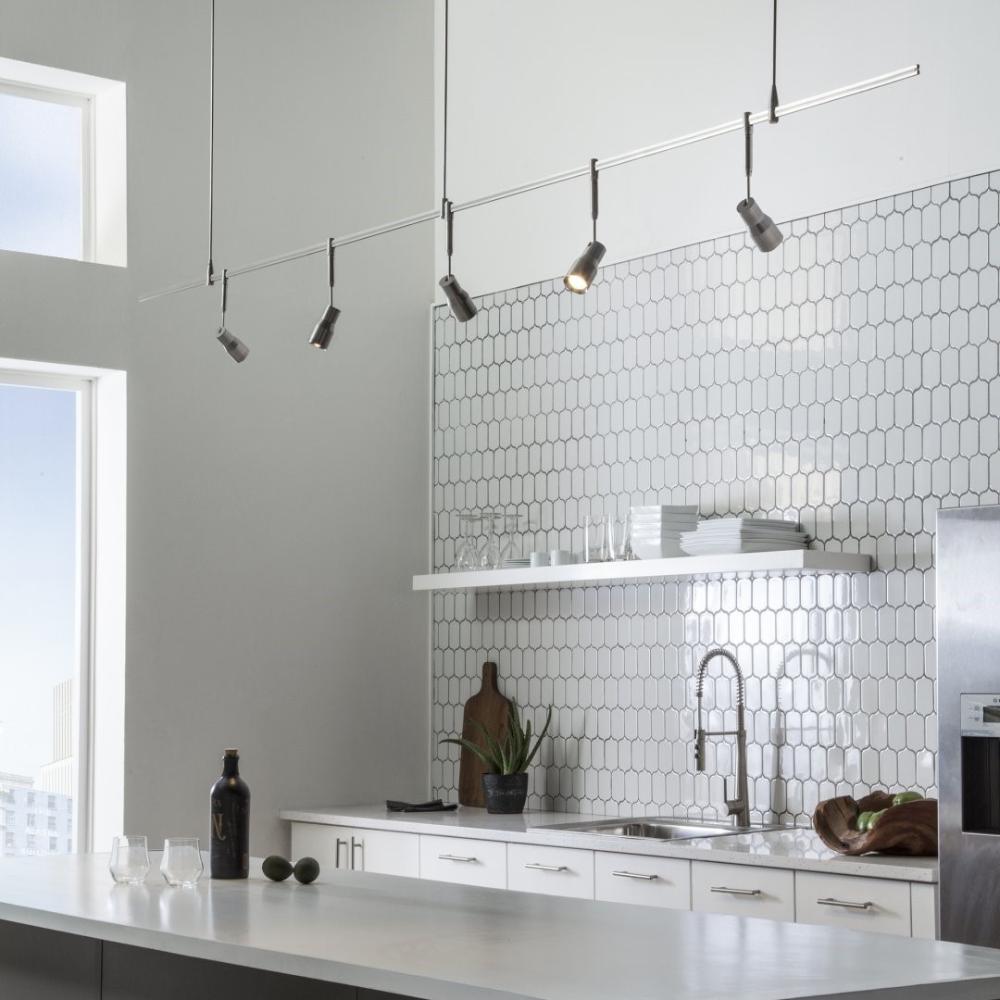 20 Kitchen Track Lighting Ideas to get Your Cooking on