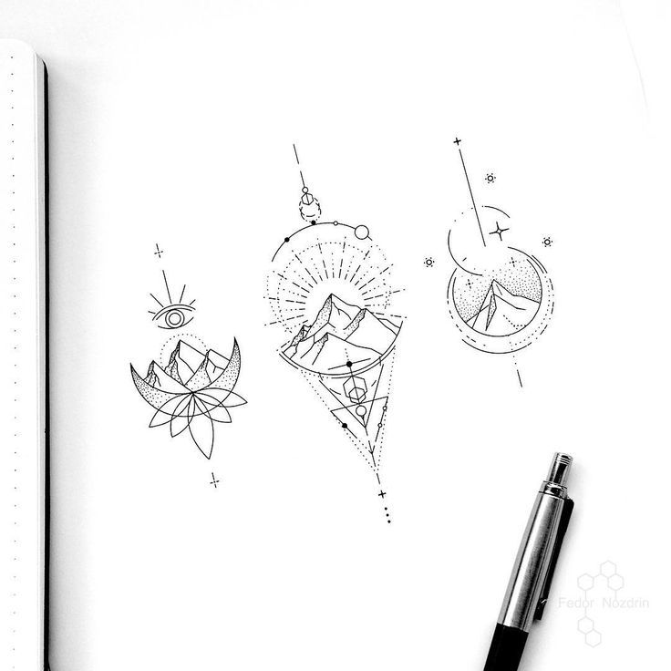 "Photo of Tattoo Artist Fedor Nozdrin on Instagram: ""Available designs . . . . #geometri…"