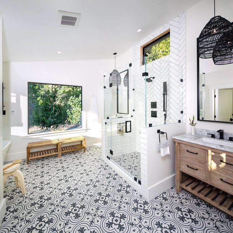 Master Shower Inspiration Thehomeco Mastershower Showergoals Homeideas Homestyling Bathroom Farmhouse Style Modern Master Bathroom Master Bathroom Design