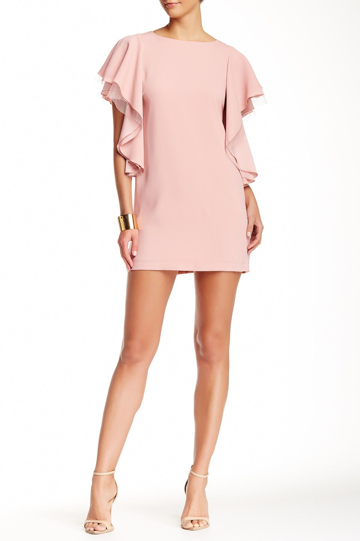 BCBGMAXAZRIA | Solace Evening Dress | Powder pink, Pink dresses and ...