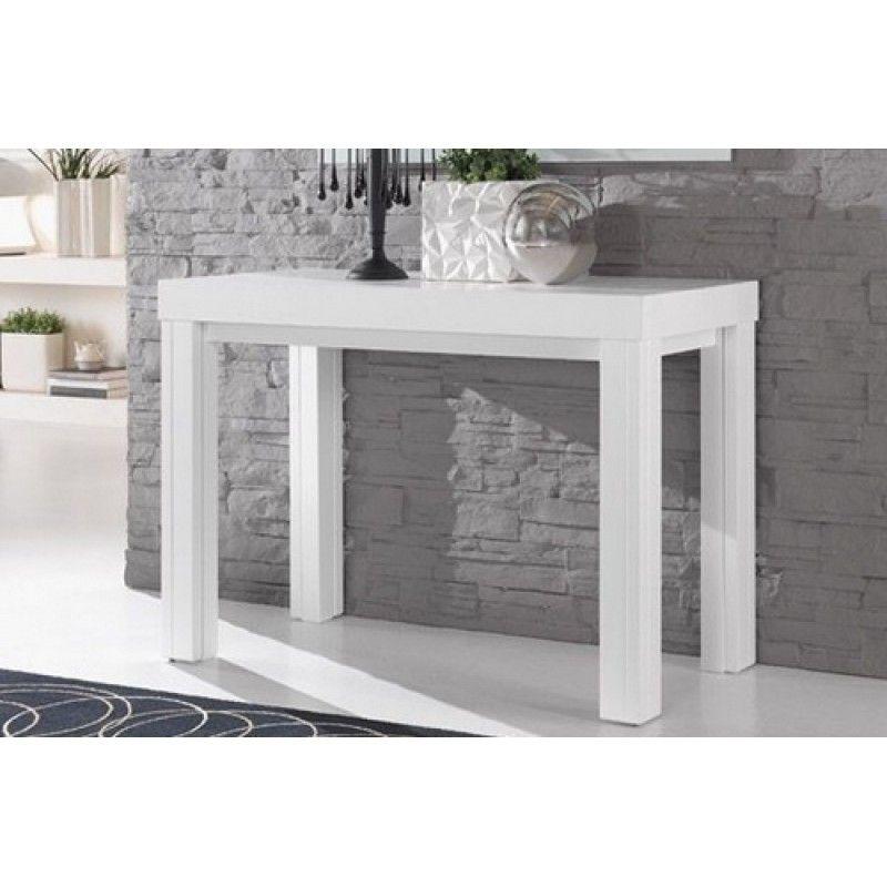 Tavolo consolle gallery 110x50 allungabile sino a 3 metri legno consolle table entryway - Tavolo consolle allungabile legno ...