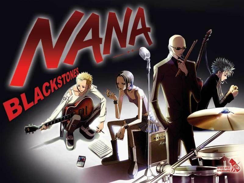 Kết quả hình ảnh cho Nana anime band