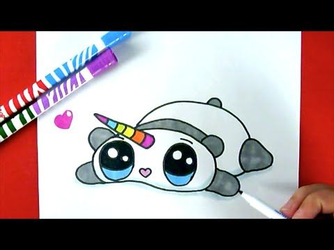 how to draw a panda youtube