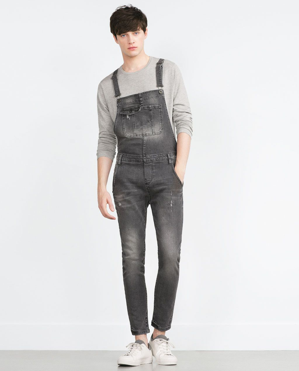 0ba7113a classic + distressed overalls from DIESEL - Pants // menswear overall style  + fashion inspiration | Fashion | Men's dungarees, Mens fashion:__cat__, ...