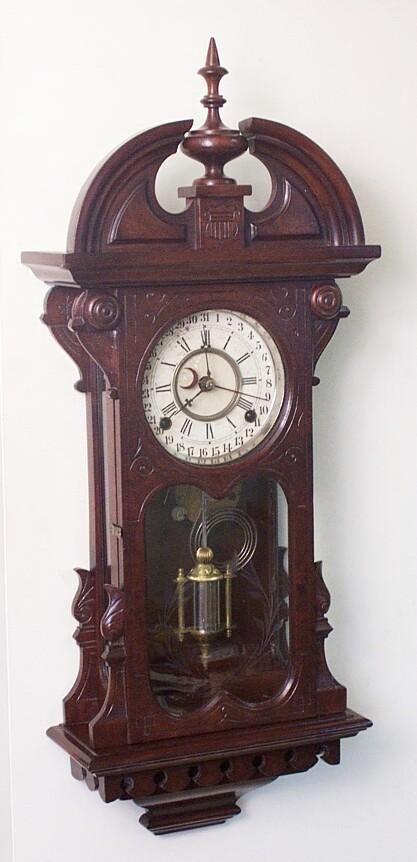 Antique Wall Clock Grandfather Clocks Howard Miller Hermle Clock ...