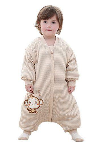 toddler baby autumn winter cotton sleeping bag long sleeves sleep sack large