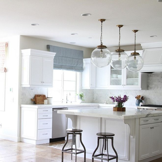 Charming One Of My Favorite Elements Of The Kitchen Are The Glass, Globe, Pendant  Lights