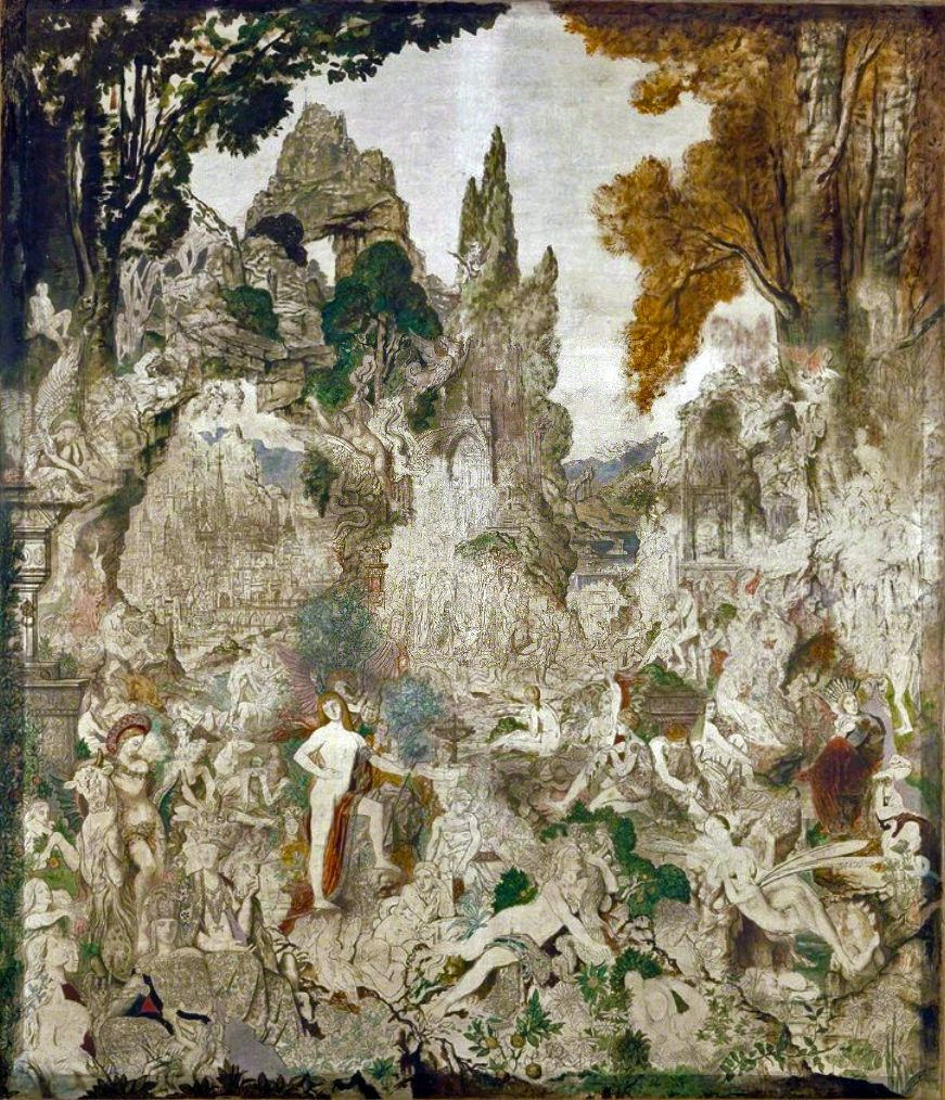 Gustave Moreau (French, 1826-1898)The Chimeras, 1884