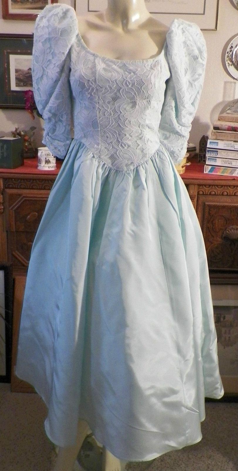 Vintage 70 S Gunne Sax Jessica Mcclintock Blue Lace Taffeta Prom Formal Dress 3 Ebay Formal Dresses Prom Dresses Formal Dresses [ 1600 x 811 Pixel ]
